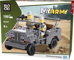 Blocki Klocki Wojsko - Jeep 199el. (KB82007)