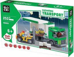 Blocki Blocki Transport - Ciężarówki Wózek Widłowy 253el (KB6093)