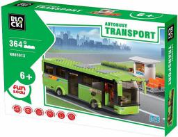 Blocki Blocki Transport - Autobus Kiosk 364el. (KB85013)