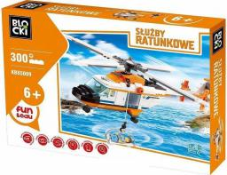 Blocki Blocki Służby ratunkowe - Helikopter ratunkowy (KB85009)