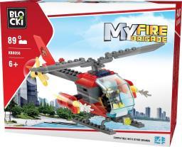 Blocki Blocki Straż pożarna - Helikopter 89el. (KB8056)