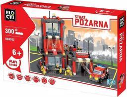 Blocki Straż Pożarna - Remiza Strażacka 300el. (KB8052)