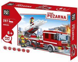 Blocki Straż pożarna - Wóz strażacki z drabiną 287el. (KB98205)