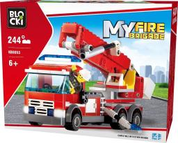 Blocki Blocki Straż pożarna - Wóz strażacki-podnośnik 244el. (KB8053)
