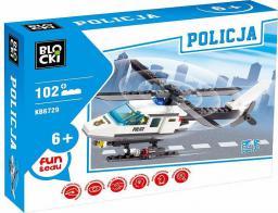 Blocki Policja - Helikopter 102el. (KB6729)