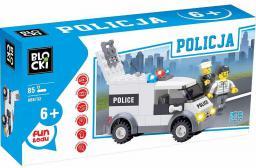 Blocki Blocki Policja - Furgonetka II 85el. (KB6732)
