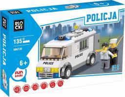 Blocki Klocki Policja - Furgonetka 135el. (KB6730)