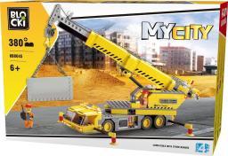 Blocki Blocki Na budowie - Dźwig Duży 380el. (KB8045)