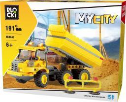 Blocki Blocki Na budowie - Ciężarówka 191el. (KB8043)