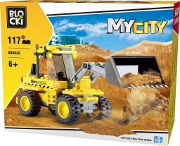 Blocki Na budowie - Buldożer 117el. (KB8042)