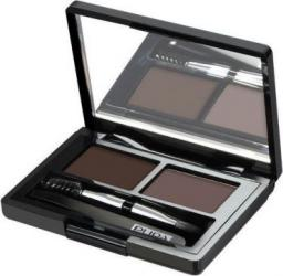 Pupa Eyebrow Design Set Zestaw do makijażu brwi 003 Dark Brown 1,1g