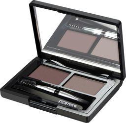 Pupa Eyebrow Design Set  zestaw do makijażu brwi 002 Brown 1,1g