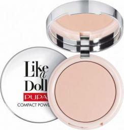 Pupa Like a Doll Compact Powder Puder do twarzy 002 Sublime Nude 10g