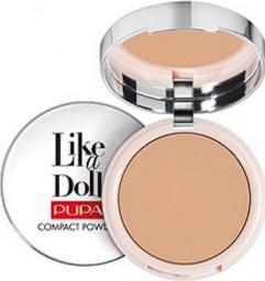 Pupa Like a Doll Compact Powder Puder do twarzy 005 Golden Honey 10g
