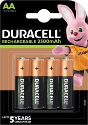Duracell Akumulator AA / R6 2500mAh 4szt.