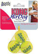 KONG AirDog piłki tenisowe Medium 3szt. 6cm [jm.szt.] - AST2E