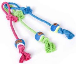 """Dingo sznur z piłką rzutka Maggie """"fresh"""" 70 g/ #4 x 40 cm - 17450"""