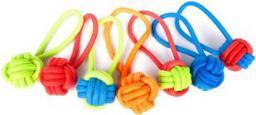 Dingo piłka pleciona ze sznura z rączką