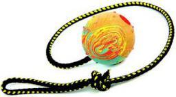 Dingo piłka aportowa na sznurku mała, sznurek 60 cm - 17320