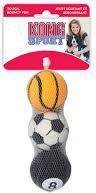 KONG Sport Balls Medium 3 szt.  6cm [jm.szt.] - ABS2E