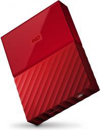 Dysk zewnętrzny Western Digital HDD My Passport 2 TB Czerwony (WDBYFT0020BRD-WESN)