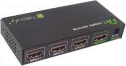 Techly Switch HDMI 3 w 1, 4K2K (309913)