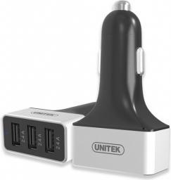 Ładowarka Unitek SMART 3x USB 2.4A S.E (Y-P539C)