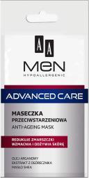 AA Cosmetics AA MEN ADVANCED CARE Maseczka do twarzy przeciwstarzeniowa 12ml