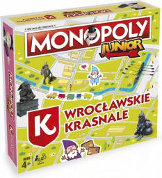 Winning Moves Monopoly Junior Wrocławskie Krasnale (28790)