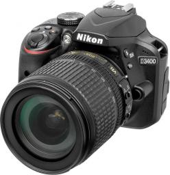 Lustrzanka Nikon D3400 + obiektyw DX 18-105 VR (VBA490K003SFK)