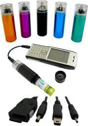 Ładowarka samochodowa 4World  Awaryjna ładowarka do telefonów GSM, na baterie AA (4217)