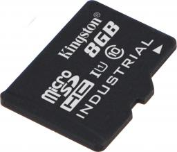 Karta Kingston MicroSDHC 8GB, UHS-I, Industrial (SDCIT/8GBSP)