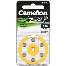 Camelion Bateria do aparatów słuchowych PR70 6szt.