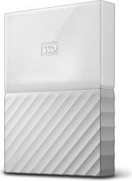 """Dysk zewnętrzny Western Digital My Passport 2.5"""" 4TB USB 3.0 (WDBYFT0040BWT-WESN)"""