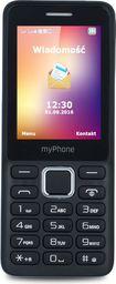 Telefon komórkowy myPhone   6310 czarny (T_0014624)
