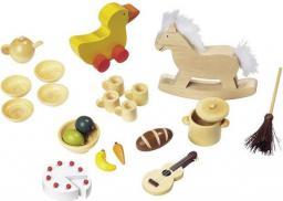 Goki Akcesoria do domku dla lalek, 23 elementy (SO300)