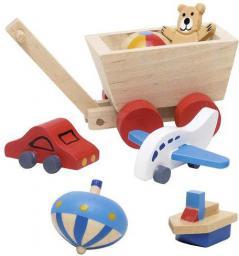 Goki Akcesoria do pokoju dziecka, zabawki, 7 elementów (51938)