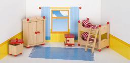 Goki Mebelki do pokoju dziecka z czerownymi akcentami, 5 elementów (51953)