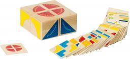 Goki Zabawa logiczna, Kubus, 4 klocki, 26 wzorów  (58649)