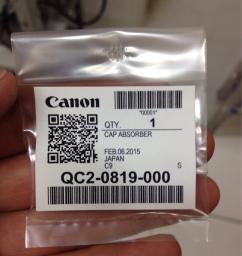 Canon Cap Absorber (QC2-0819-000)