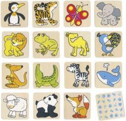 Goki Memo, zwierzęta, 32 części (56700)