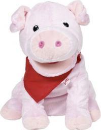 Goki Miękka pacynka na rękę, świnka (51782)