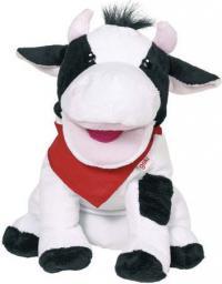 Goki Miękka pacynka na rękę, krowa (51783)