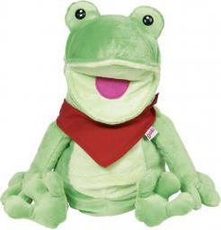 Goki Miękka pacynka na rękę, żaba (51785)