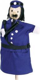 Goki Pacynka na rękę, policjant (51994)