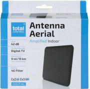 Antena RTV One For All wewnętrzna SV 1240 ze wzmacniaczem 42 dB, czarna / ONE FOR ALL (SV1240)