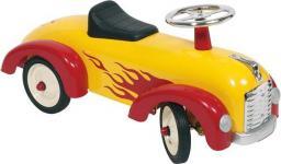 Goki Żółty pojazd dla dzieci, płomienie  (14072)