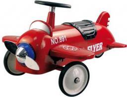 Goki Czerwony, pojazd dla dzieci, samolot  (14151)