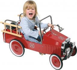 Goki Czerwony, pojazd dla dzieci, wóz strażacki  - 14069