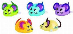 Goki Nakręcana myszka, 5 wzorów (13220)